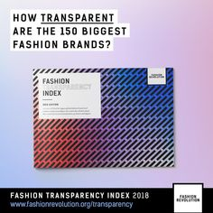 Are brands becoming more transparent? 🧐 Is the #FashionRevolution working? How much do we really know about the impact our clothes have on…