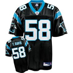 35bbdb758 ... Reebok Carolina Panthers Thomas Davis 58 Black Replica Jerseys Sale  Mike Wallace Jersey Black 17 Reebok NFL Pittsburgh Steelers ...
