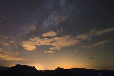 The annual Perseid meteor shower created by leftover bits of a comet is at its best in the night sky now, but there are a few tips to keep in mind to make the most the cosmic fireworks show.  http://news.yahoo.com/perseid-meteor-shower-peaking-now-watch-143338629.html