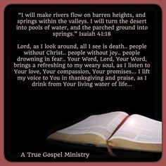 Seek God.. spend time in His Word and refresh your weary soul... #atruegospelministry