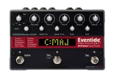 Eventide PitchFactor Harmonizer Delay Pedal - The Eventide PitchFactor puts a palette of pitch effects at your feet: octaves, harmonizers, choruses, arpeggios, modulations, and even synth-like effects.