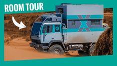 Transform A Military Truck Into Dream Mobile Home – Steyr Steyr, Room Tour, Mobile Home, Military, Tours, Mobile Homes, Motorhome, Military Man, Army
