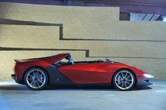 Foto Lateral Ferrari Sergio Cupe 2013