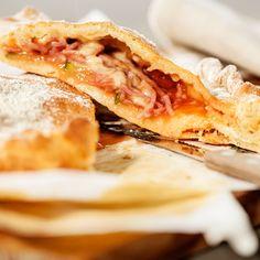 Receita de Pizza Calzone de Fiambre
