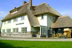 De Villa   Villa Nieuwland B Hotel, Den Oever B & B, Netherlands, Holland, Mansions, House Styles, Places, Outdoor Decor, Houses, Group