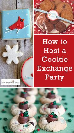 How to Host a Cookie Exchange Party! Great Christmas Party Tips for a successful Holiday night with friends. Everyone loves a good cookie swap!