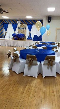 """royal blue"""" prence Baby Shower Party Ideas   Photo 6 of 13   Catch My Party"""