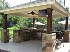 Image result for covered outdoor kitchen