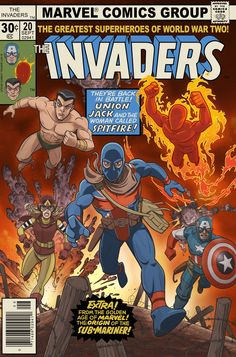 The Invaders Comic Book #20 by jimmymcwicked on DeviantArt