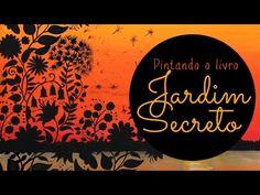 Atelier Gina Pafiadache: Jardim Secreto - Secret Garden - Por do Sol