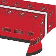NFL 54 x 102 Plastic Tablecover All Over Print Tampa Bay Buccaneers/Case of 12 Tags: Tampa Bay Buccaneers; Tablecover; NFL Tableware; Tampa Bay Buccaneers party;Tampa Bay Buccaneers party tableware;Tampa Bay Buccaneers Tablecover; https://www.ktsupply.com/products/32786326558/NFL-54-x-102-Plastic-Tablecover-All-Over-Print-Tampa-Bay-BuccaneersCase-of-12.html