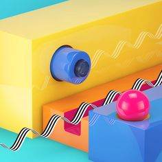 Learn how to model, texture and renderer vibrant reflective shapes in Cinema 4D and bring them together to form a colourful metaphysical-abstract 3D scene.