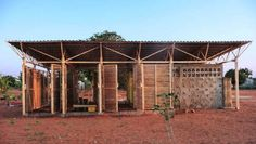 Educational Building In Mozambique - Earth Architecture