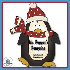 Mr. Popper's Penguins Novel Study is a Common Core Standard aligned book unit to…