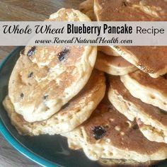 My kids love when I make this blueberry pancake recipe for breakfast on Sunday mornings.