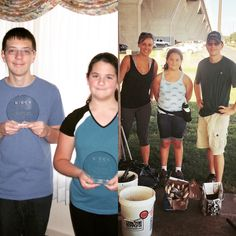"""Kent Island Beach Cleanups """"Volunteers Of The Year"""", Christopher and Nicole, 11/16"""