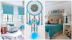 Dreamcatcher Blue Dream Catcher Large от LuxuryHandmadeArt на Etsy