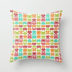 This will be for my desk chair. I love all of the bright colors.