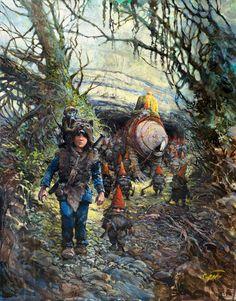 Louve Thorgal Rosinski dwarf dworf Louve