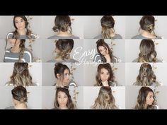 New Bridal Hairstyle For Long Hair. Cute Fall Hairstyles, Low Ponytail Hairstyles, Heatless Hairstyles, Easy Hairstyles For School, Easy Hairstyles For Medium Hair, Undercut Hairstyles, Quick Hairstyles, Girl Hairstyles, Hairstyle Ideas
