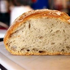 Foto recept: Knapperig brood zonder kneden