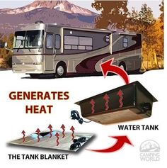 Living in your RV in a cold climate? Check out this blog for tips and tricks on how to survive winter living in an RV!