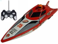 Radio Remote Control Speed Boat Single Seat Racer Twin Propellers FAST