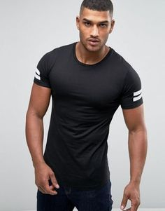 Discover men's t-shirts and vests at ASOS. Shop from plain, printed and long sleeve t-shirts and vests to longline and oversized styles with ASOS. Gym Guys, Mens Plain T Shirts, Asos Men, T Shirt Vest, Trendy Clothes For Women, Gym Wear, Shirt Style, Casual Outfits, Casual Clothes