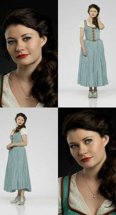 "ABC's ""Once Upon a Time"" stars Emilie de Ravin as Belle."