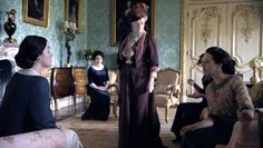 Living In Color: Inspiration: Downton Abbey on PBS Masterpiece - Palladian blue
