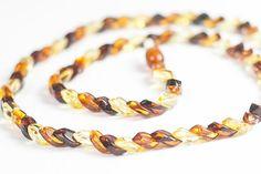 Luxury Baltic amber necklace. Handmade by LuxuryBalticAmber, $26.41
