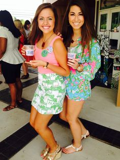 Big/little loving in Lilly during recruitment. TSM.