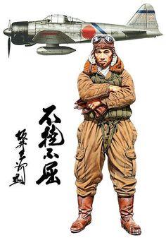 日本の撃墜王 坂井三郎さん!Mitsubishi A6M Zero - pin by Paolo Marzioli                                                                                                                                                                                 Mais