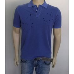 Polo Azul Drip - Usina Jeans