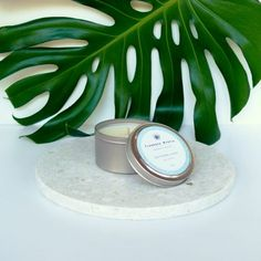 Soy Candle Phthalate Free Travel Tin