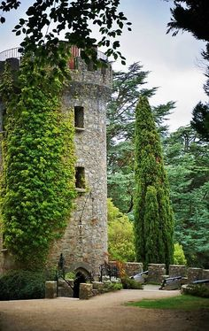 Powerscourt Estate Tower - Co Wicklow, Ireland