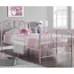 Twin Panel Bed #birchlane
