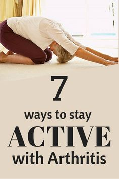Here are tips on the best ways to keep active with joint pain no matter what the…