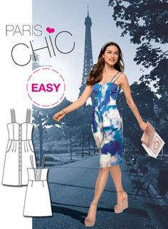 Introducing our latest Burda Easy Dress Sewing Pattern!