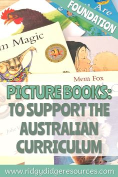 Picture Books to Support the Australian Curriculum: Foundation Year - Ridgy Didge Resources Paragraph Writing, Persuasive Writing, Writing Rubrics, Opinion Writing, History Education, Physical Education, Rainy Day Pictures, Nursery Stories, Picture Story Books