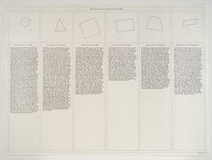 the ABCD's of Sol Lewitt