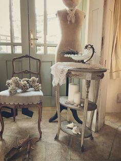 1890's French Chevet オルモル装飾のあるフレンチシュヴェ/アンティークパディントン
