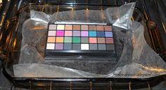 Makeup Case: Depotting Eyeshadow Flame and Oven Method