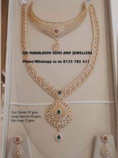 Jewellery Exchange In Renton Gold Bangles Design, Gold Jewellery Design, Gold Jewelry, Gold Necklace, Diamond Necklace Set, India Jewelry, Bridal Necklace, Diamond Jewellery, Jewelry Design Earrings