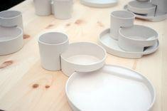 Julian Paul / interlocking dishware