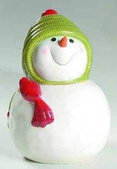Snow Days Cookie Jar