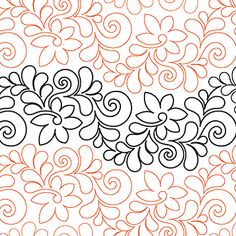 Fresco - Digital - Quilts Complete - Continuous Line Quilting Patterns