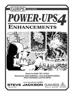 Enhance Your Game!  Enhancements are useful tools, providing unlimitedways to modify advantages. GURPS Power-Ups 4: Enhancements adds to the material from the GURPS Basic Set to provide new and powerful options.  This is a one-stop compendium of all general enhancements introduced after the Basic Set was released -- over 50 total, including several never before seen in any other GURPS supplement! Each enhancement is classified so the GM can know if it's benign, game-breaking, or somewhere in…