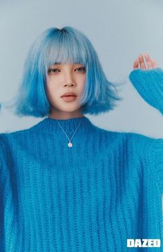 Image discovered by karlão. Find images and videos about korean, photoshoot and yg on We Heart It - the app to get lost in what you love. Aesthetic People, Aesthetic Hair, Hair Inspo, Hair Inspiration, Pretty People, Beautiful People, Pelo Multicolor, Photographie Portrait Inspiration, Hair Reference