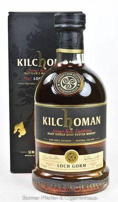 Kilchoman Whisky Loch Gorm Region : Islay 46 % alc./vol. 0,7l nicht kühlgefiltert Fassart : Ex-Sherryfässer Nase : Würzig-weich mit leichtem Rauch, dunkler Schokolade und Citrusfrüchten Geschmack : Weiche Fruchtnoten und rauchiger Torf mit zuhnemender, aber sanfter Süße Finish : Lang anhaltende Süße, gepaart mit würzigem Rauch
